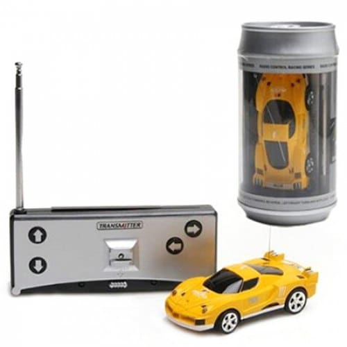 2010B Ring-pull Cans Mini RC Car High-speed Drifting Racing Toy for Children