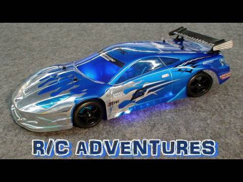 "RC EVENTYR –  BØRSTELØS TOURING DRIFT BIL DEL 7  TAMIYA TT01 R  KIT CUSTOM KIT ""THE DEMO"""