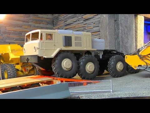 Maz 537 8×8 Lkw! HEAVY RC BC8 RUSSIAN TRUCK! RC-CROSS TRUCK