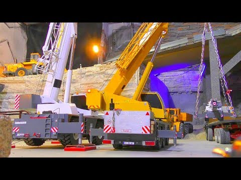 LIEBHERR LRT 1100- 2.1! FANTASTIC AND UNIQUE NEW RC CRANE! HEAVY TOYS!