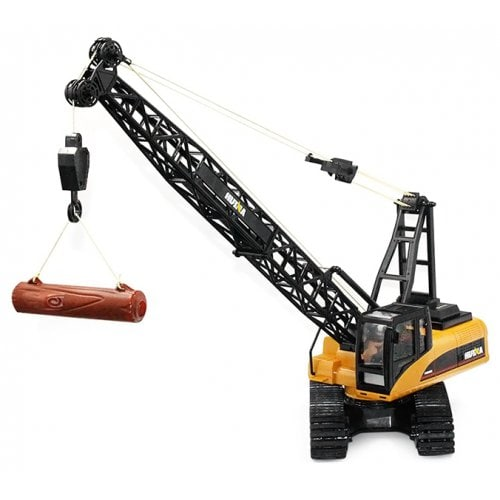 HUINA JOUETS 1572 1:14 2.4Camion-grue RC alliage GHz 15CH - RTR