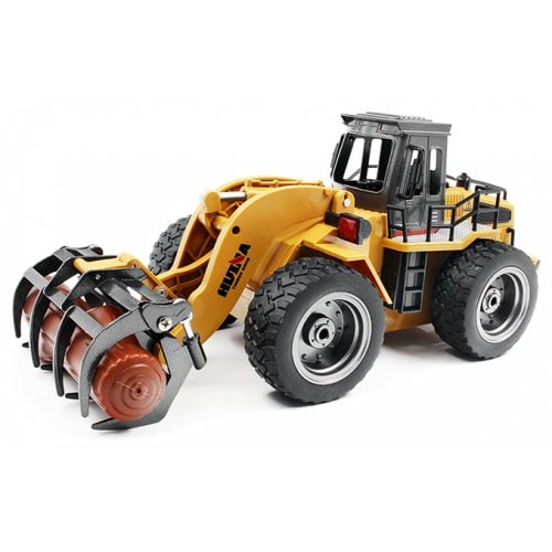 HUINA JOUETS 1590 1:18 6CH RC alliage bois benne camion - RTR