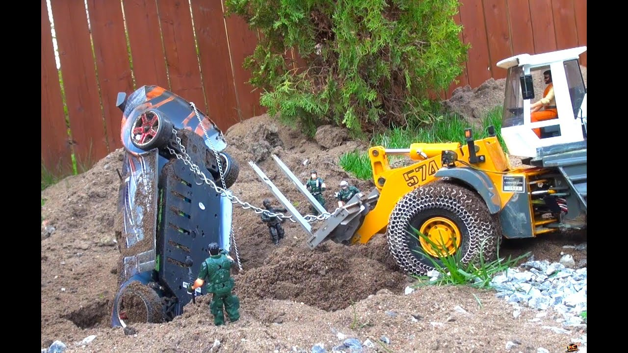 RC ПРИКЛЮЧЕНИЯ – How to Recover a buried Drift Car