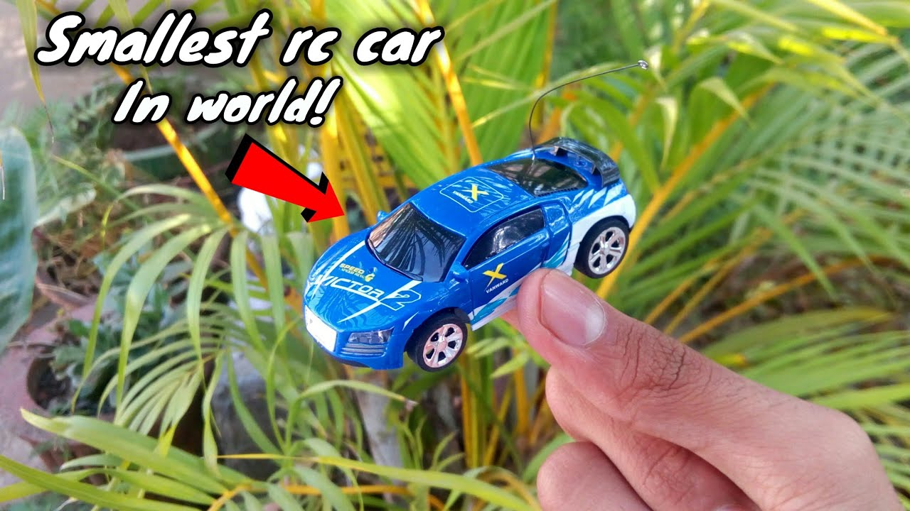 unboxing and test amazing mini rc car – smallest rc car