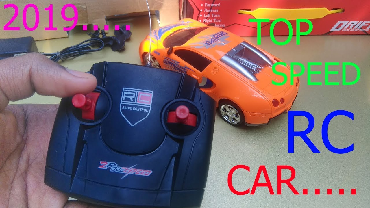 Hot wheels RC remote control car unboxing and review