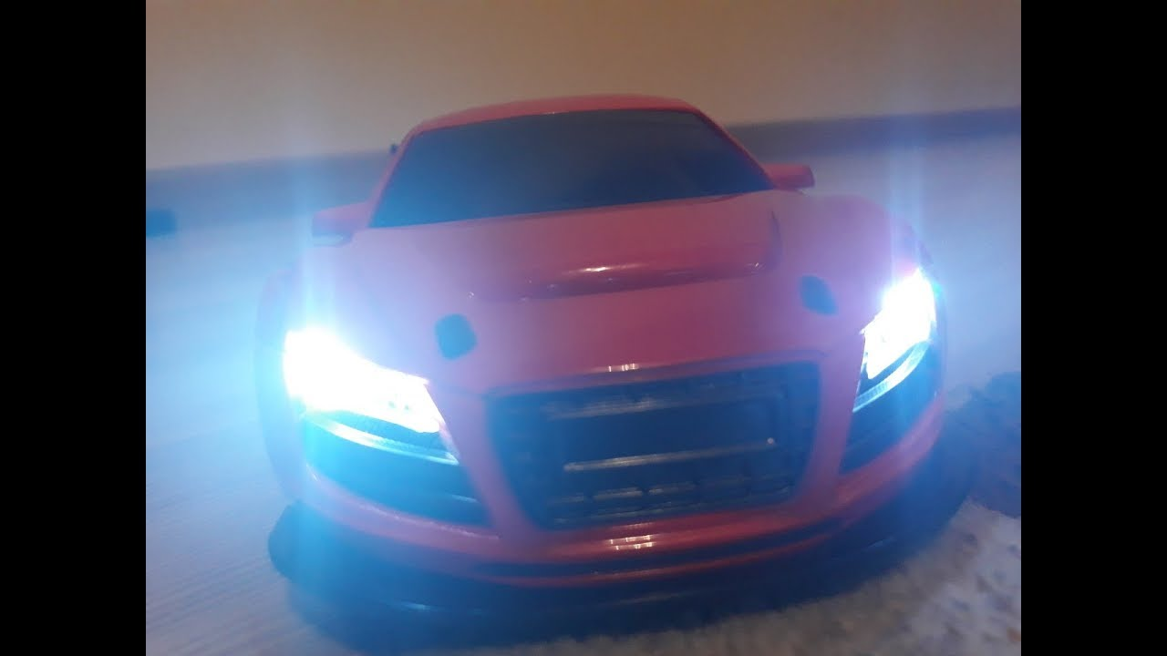 Unboxing & Review NEW Audi R8 RC Car