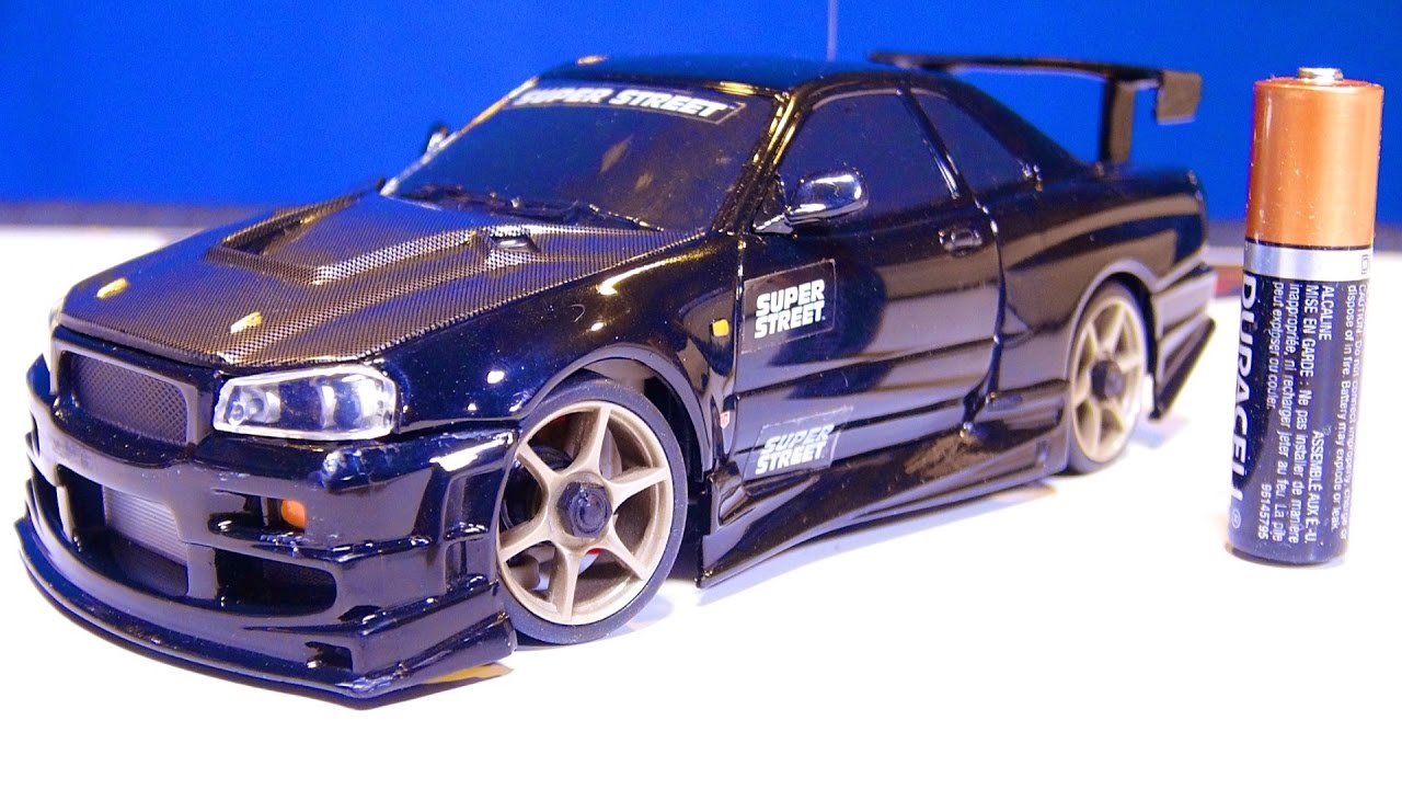 RC EVENTYR – Nissan Skyline – I get my first XMods Car!  (Unboxing an RC Car from eBay)