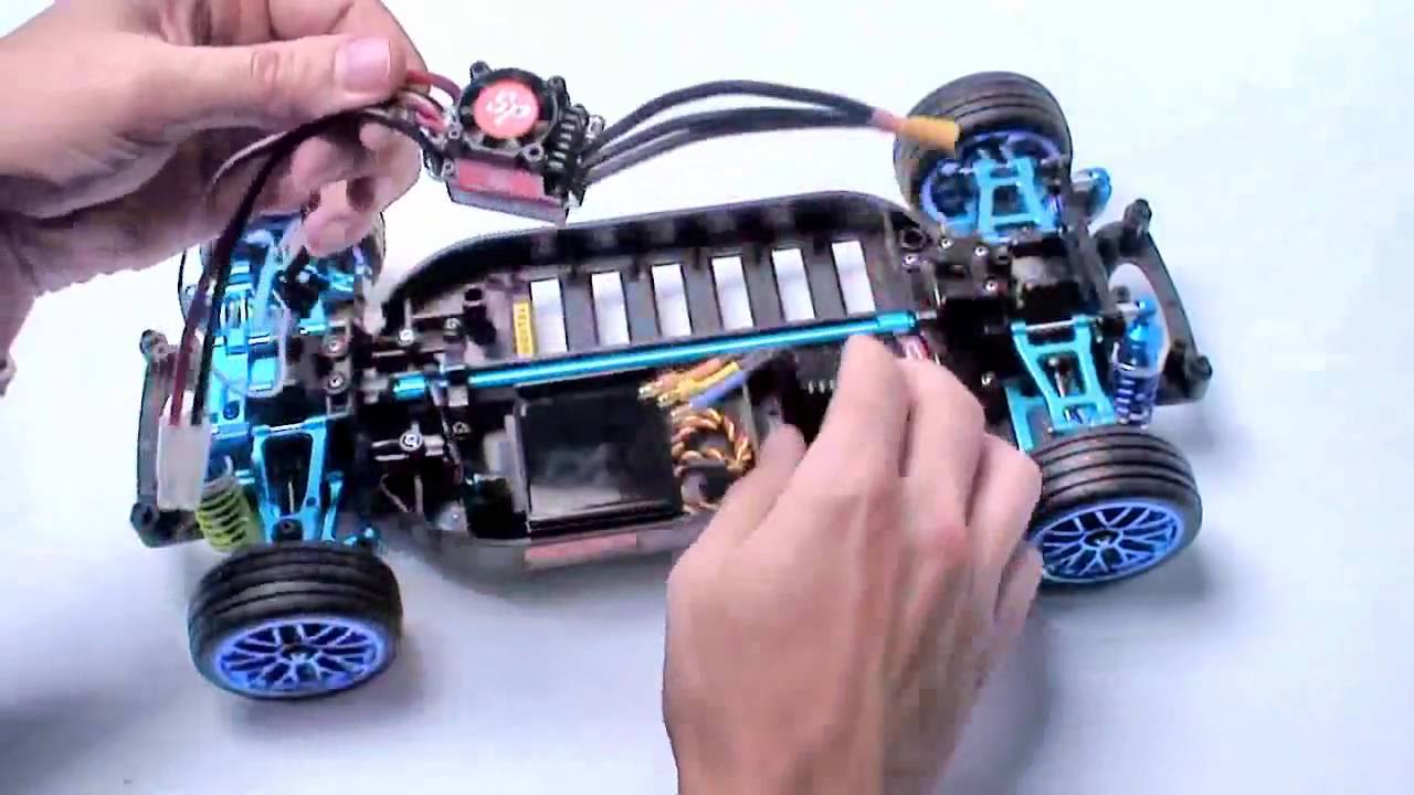 RC ПРИКЛЮЧЕНИЯ –  БЕСЩЕТОЧНЫЕ УНИВЕРСАЛ ДРИФТ АВТОМОБИЛЬ ЧАСТЬ 5  TAMIYA TT01 R  KIT CUSTOM KIT
