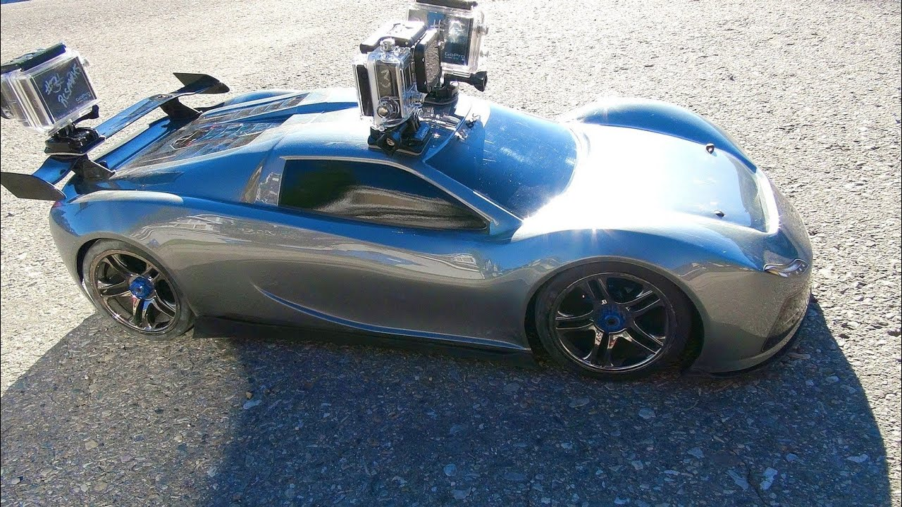 RC 冒险 – TRAXXAS XO-1 – 3 GoPro Cameras Onboard the SUPER CAR