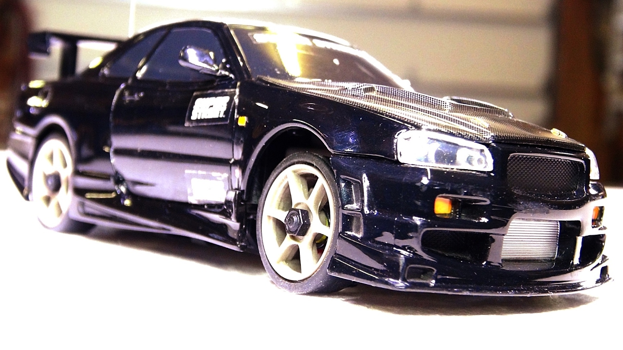 RC ADVENTURES — Nissan Skyline Troubles — the End of my XMods RC Car