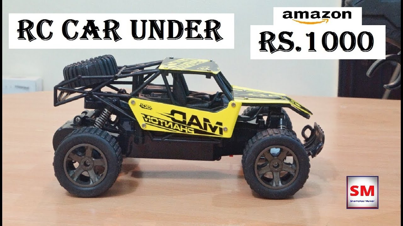 Best RC CAR Under 1000 rupees | 1:18 Scale 2.4GHz RC Car Review in Hindi | Shamshad Maker