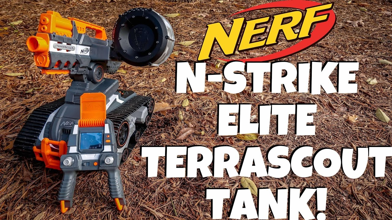 Nerf Terrascout RC Drone Unboxing and Review!