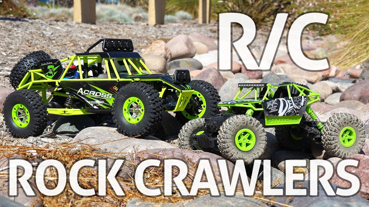 RC Rock Crawlers! Wltoys & Jjrc – Отзыв