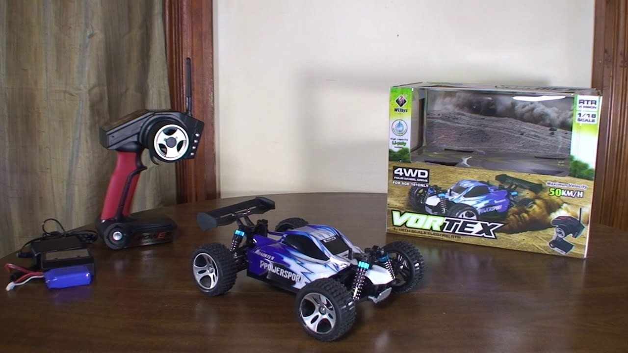 WLtoys — A959 Vortex — Review and Run