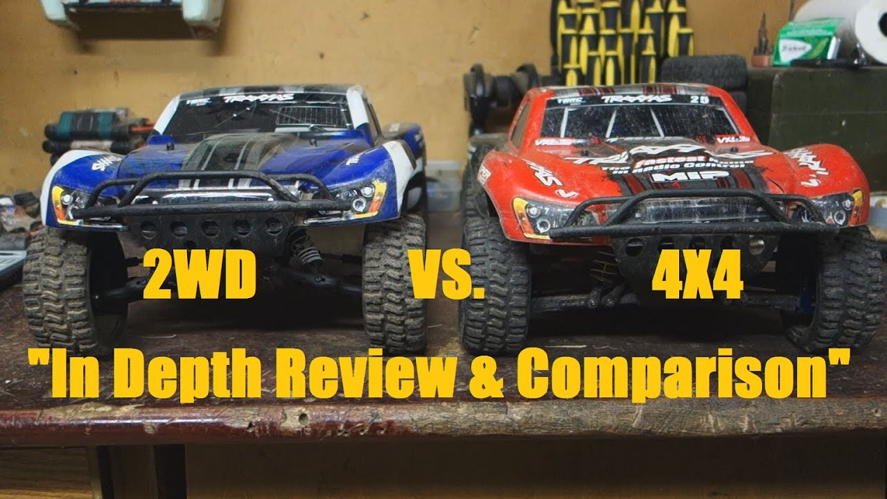 traxas slash 2wd vs. 4×4 比较与回顾
