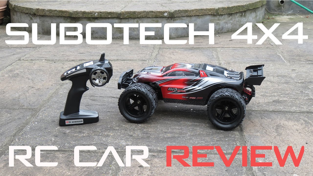 Subotech 4×4 2 4Ghz RC Car Unboxing & Examen | Supercool Off Road RC Car