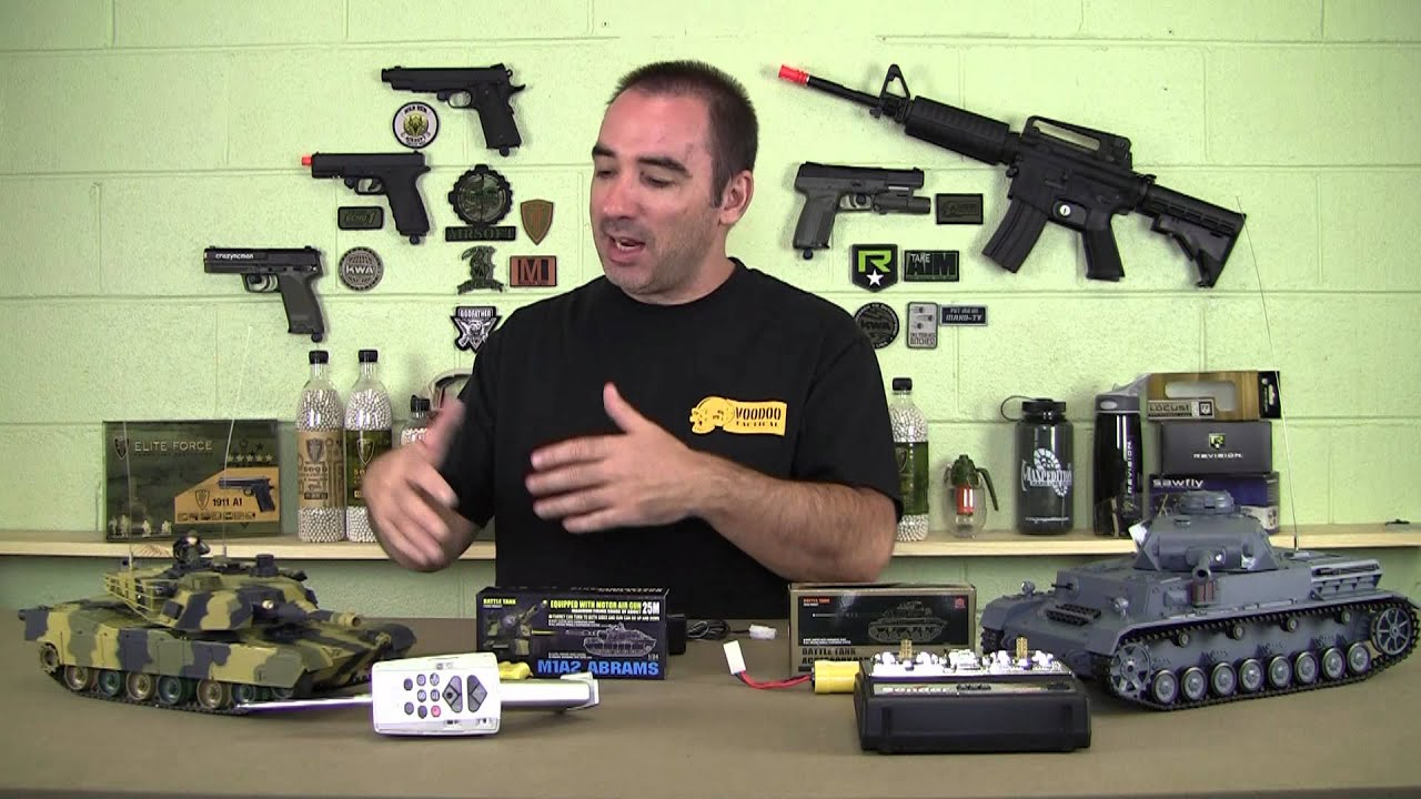 RC Airsoft Battle Tank Review www.AirsoftRC.com