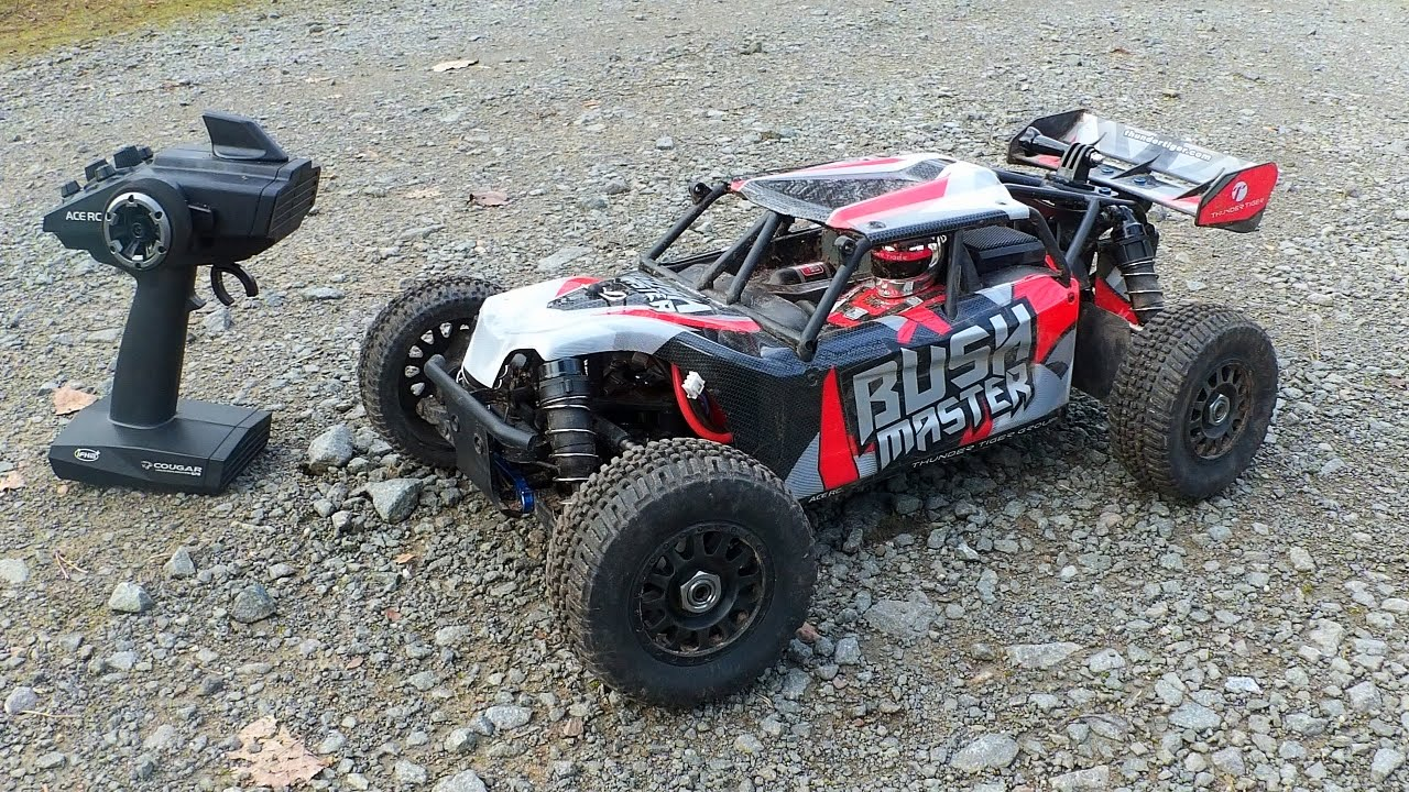 Thunder Tiger BUSHMASTER – High Speed Brushless 1/8 RC Car // Testbericht & Testfahrt