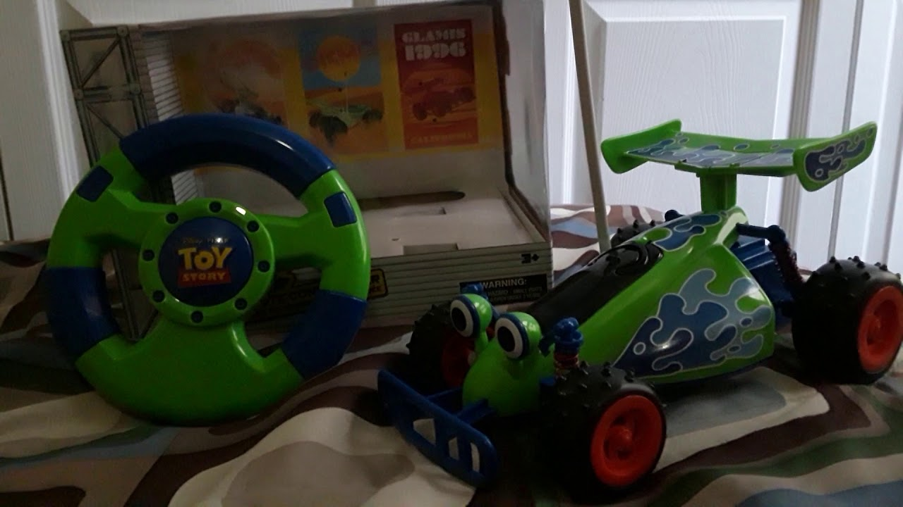 Disney store exclusive toy story rc car my very first toy review