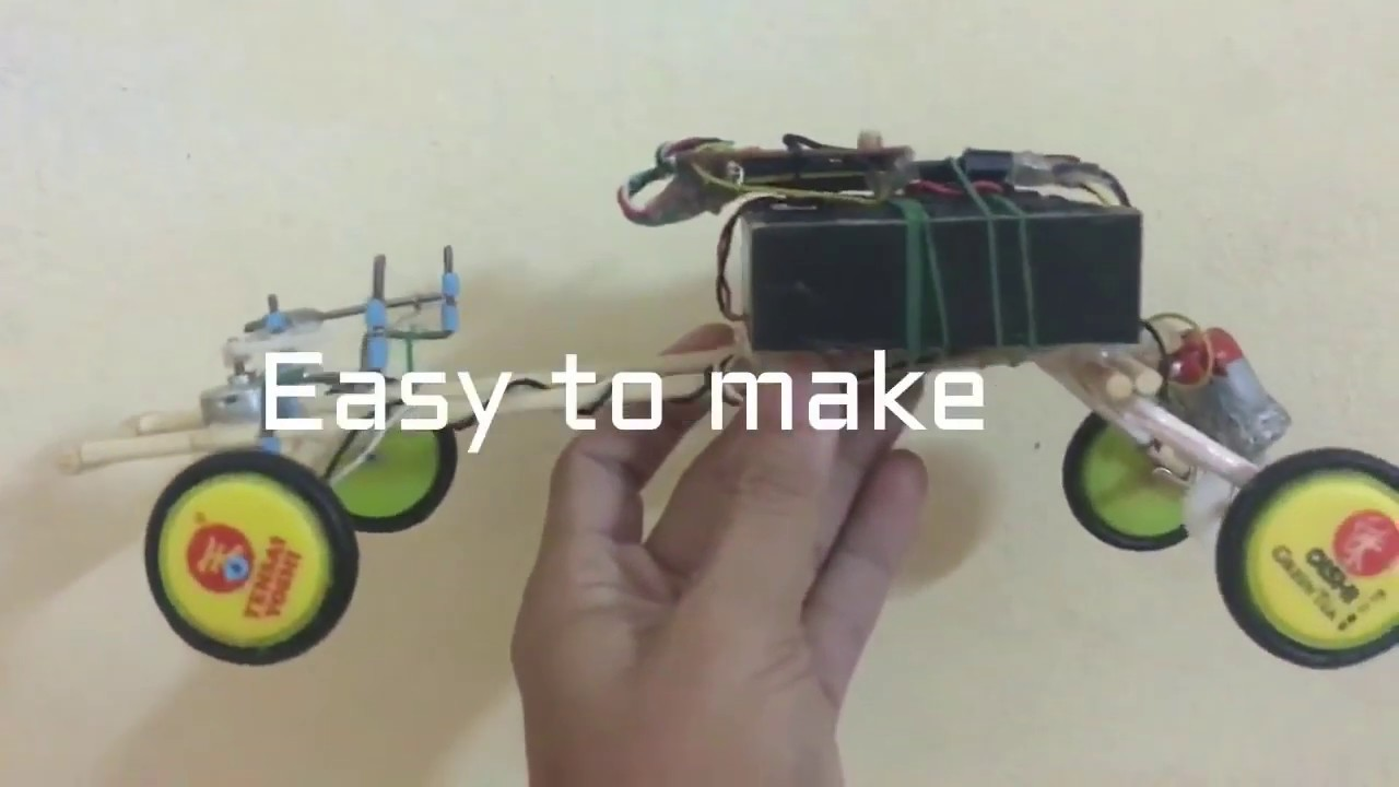 Homemade RC | How to make RC Truck at home easy | RC Lastbil anmeldelse