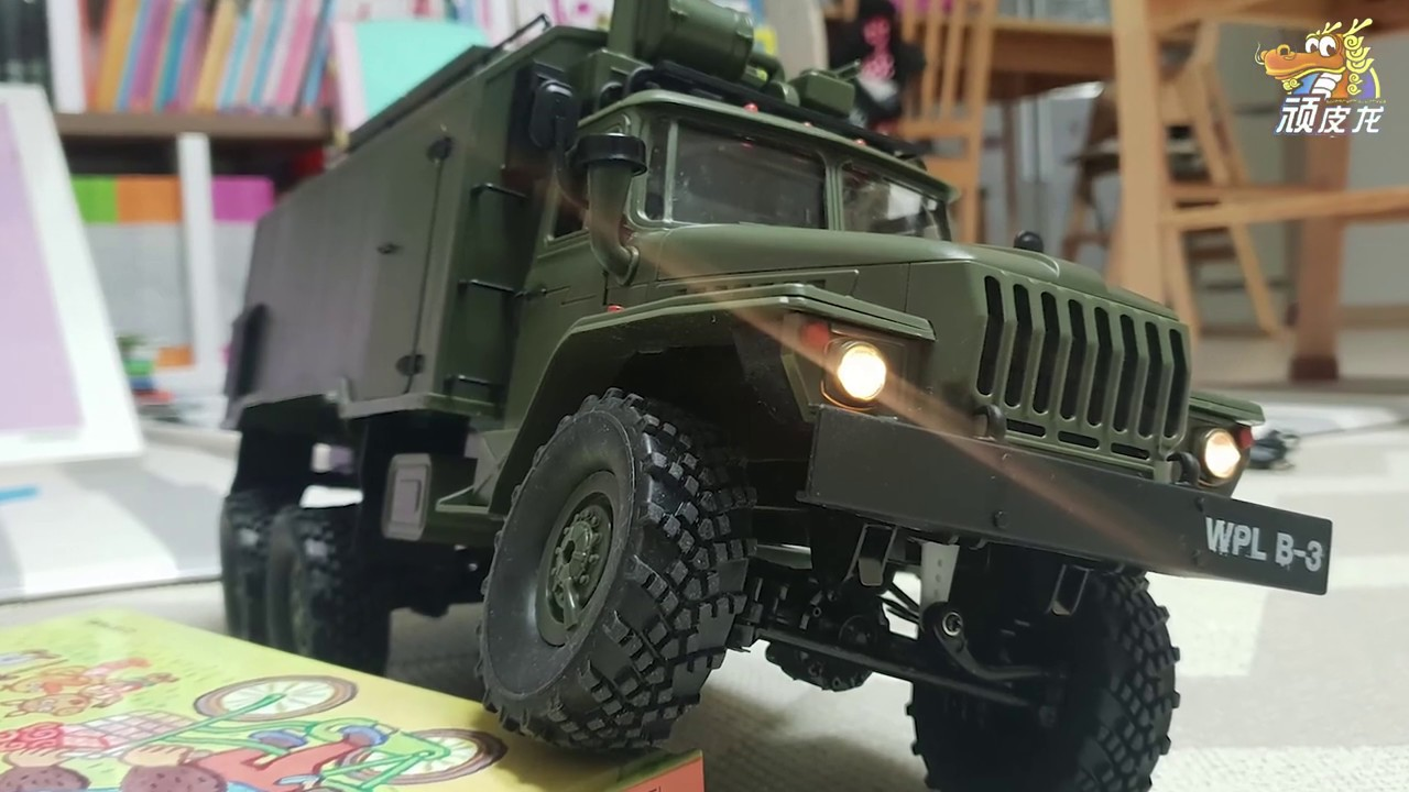 RC CAR WPL B36 Ural 1/16 6WD Militär-LKW RTR REVIEW