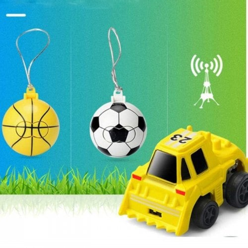 Mini 2 Inch 1 Voetbal / Basketbal RC auto 2CH afstandsbediening Model Toy Gift