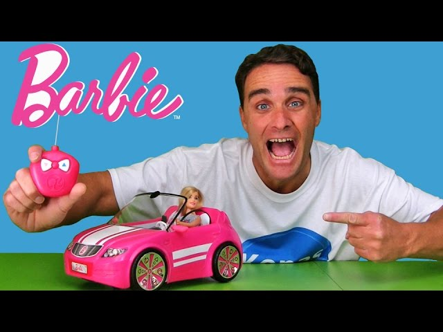 Barbie RC Convertible Car !  || Toy Review || Konas2002