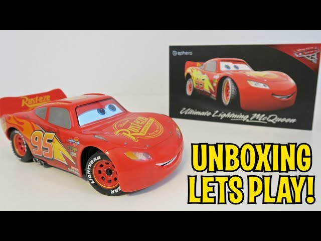 UNBOXING & LETS PLAY – ULTIMATE LIGHTNING MCQUEEN – by Sphero – FULL REVIEW! Robotic RC Cozmo Cars 3