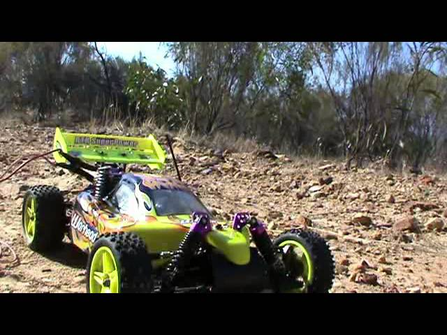 New HSP RC CAR 1/10 2.4ghz 2Speed Nitro 4WD Off-Road Buggy Review 2013 Part 2