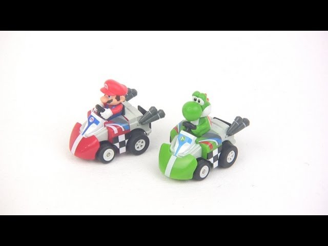 Air Hogs Mario Kart micro RC car battle set tested