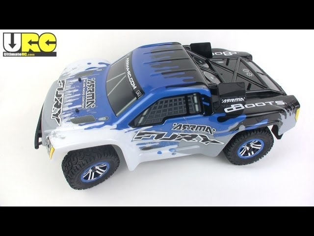 ARRMA-RC Fury 2WD short course truck review