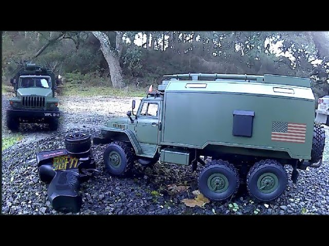 WPL B36 Oeral 1/16 2.4G 6WD Rc auto militaire Truck Rock Crawler – ARMY GREEN