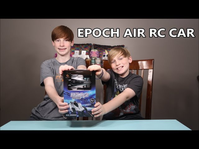 EPOCH AIR RC CAR!  Remote Control Wall Climbing Car Review!