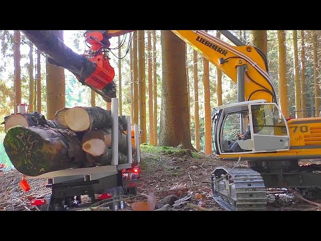 HEAVY RC TRUCK RASH! RC CRASH IN THE WOODS! RC TRUCK RESCUE!