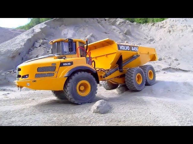 BEST RC CONSTRUCTION SITE! HEAVY RC MODELS! BIG RC TRUCKS IN ACTION