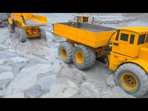 AMAZING RC VEHICLES WORK IN THE MUD! RC TRUCKPULLING EXTREME! COOL RC MACHINES ACTION