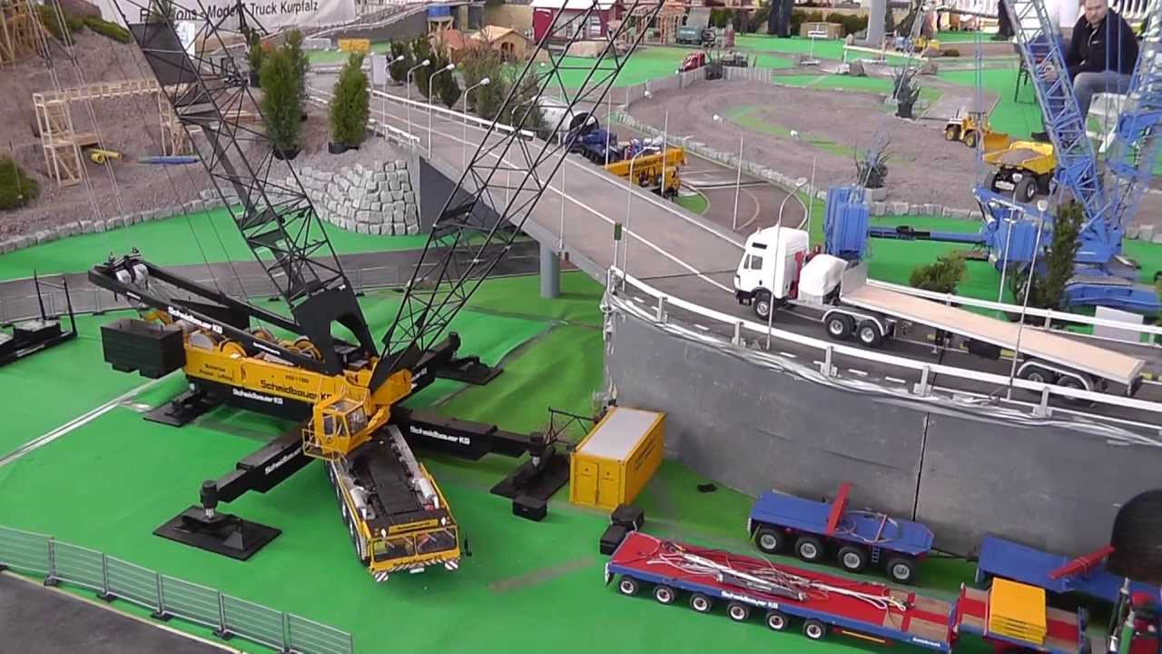 MOBILE CRAN l THE BIGGEST RC CRANE IN THE WORLD l YOU MUST SEE THIS VIDEO!!!