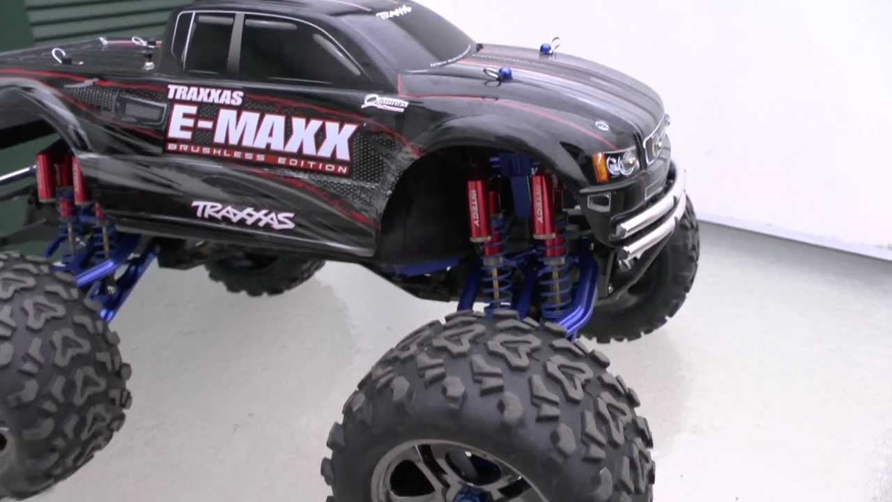TRAXXAS |  TRAXXAS E-MAXX l Mamba from Integy l HEAVY RC l