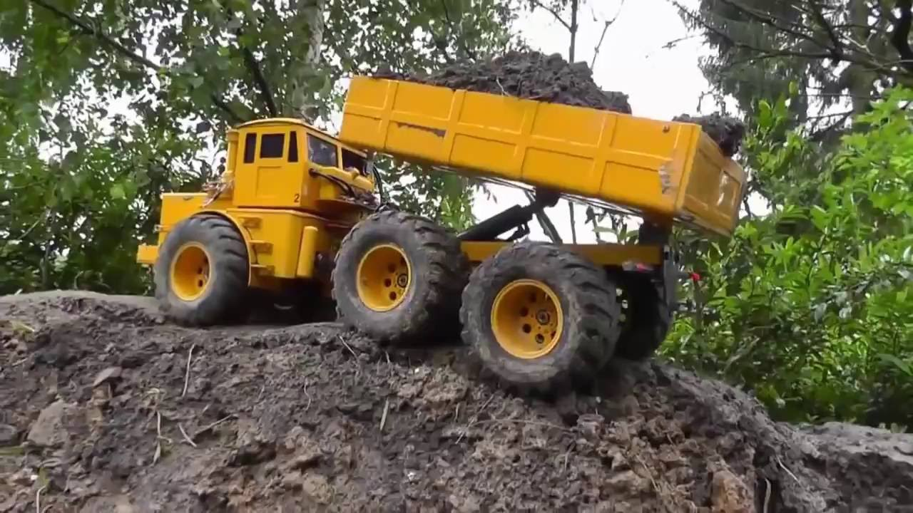 BEST OF RC TRUCKS IN ACTION! MACHINES COOL RC AU TRAVAIL! FANTASTIC SELF MADE RC TOYS