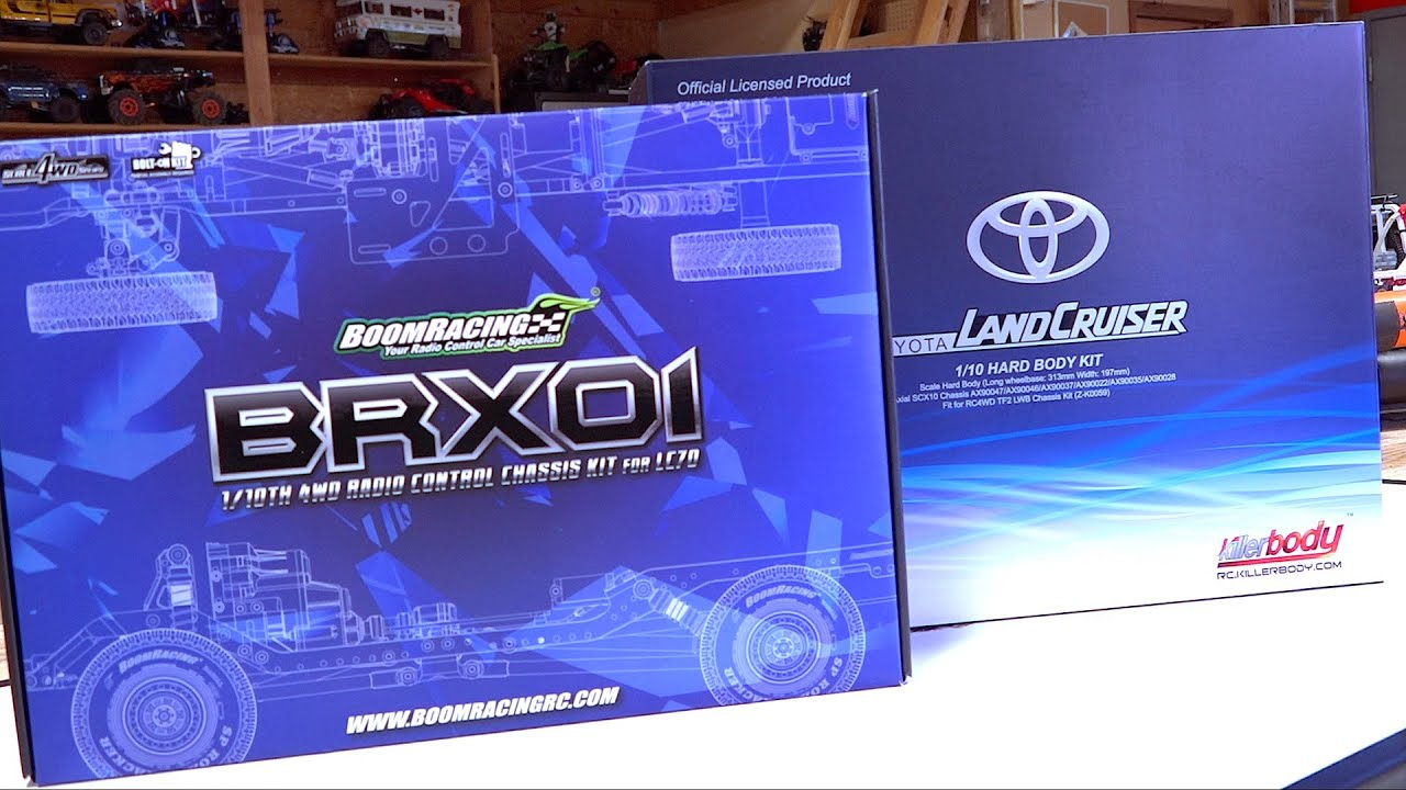 BRX01 BOOM RACING BUILD! TOYOTA LC70 LAND CRUISER TRUCK Eps 1 – Unboxing | RC EVENTYR
