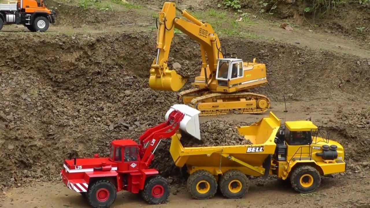 CONSTRUCTION l RC CONSTRUCTION MINE l HARD WORK AND A NICE RC DAY l HEAVY RC MACHINES l