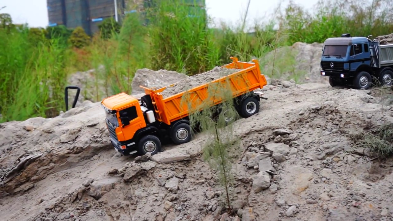 RC CONSTRUCKTION l RC TIPPER 8X8 l RC ROADWORKER l LESU MODELS l