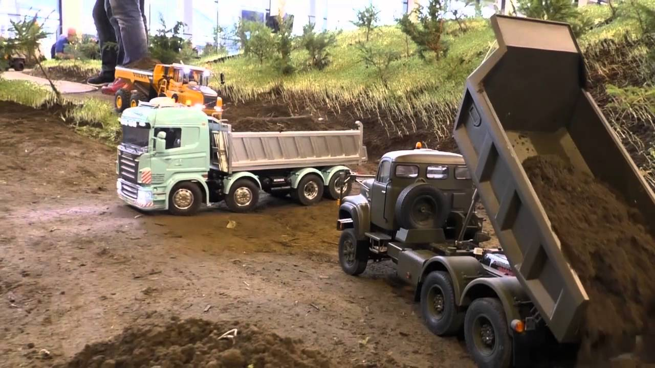 HEAVY CONSTRUCTION, Amazing RC Machines at work, Scania, volvo, iveco, and more nice models!