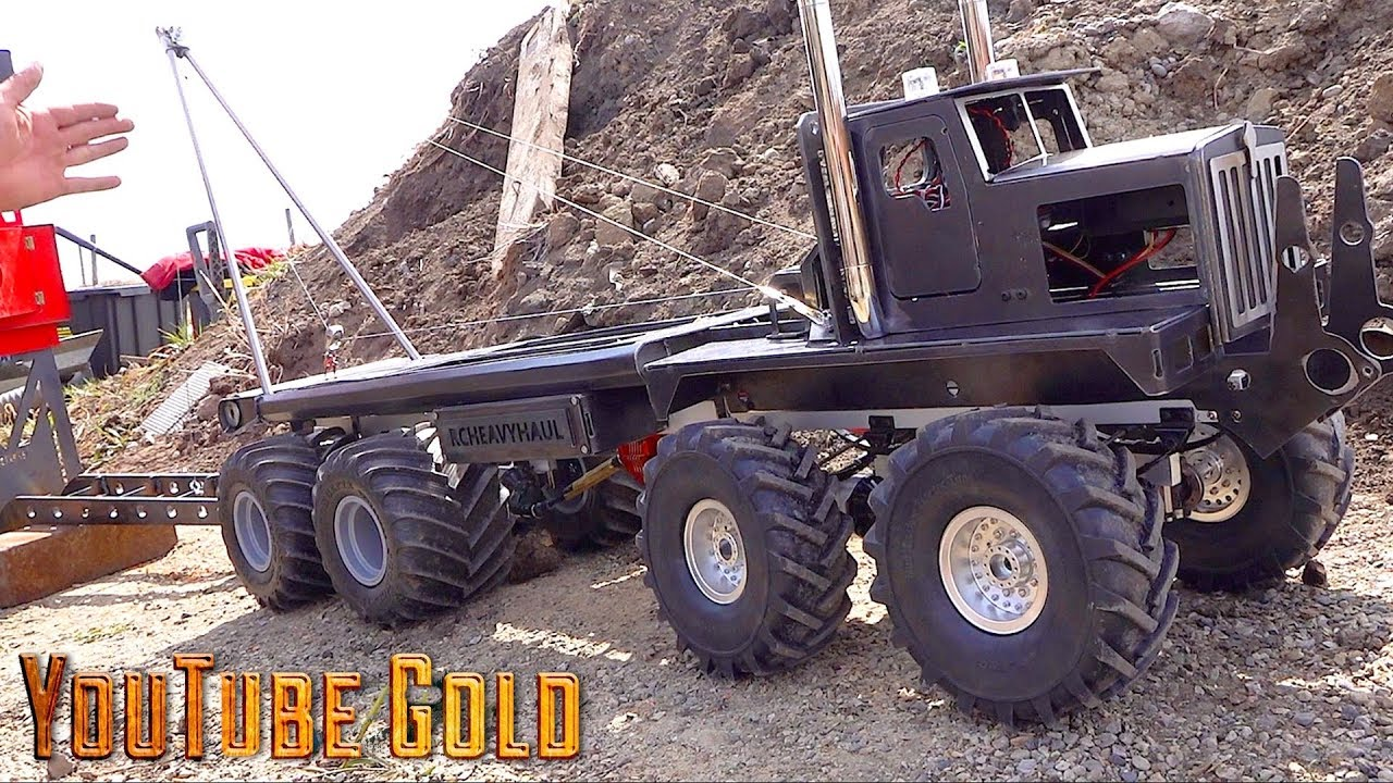 YouTube GOLD  – 8×8 Heavy Haul Mine Site Move : Make it Snappy (s2 e4) | RC ADVENTURES