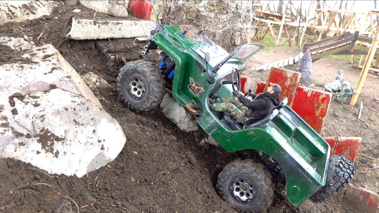 AFTER 2.5 YEARS, I fire up the Jeep Willy & Patrol the Backyard Trail Course | RC AVANTURE