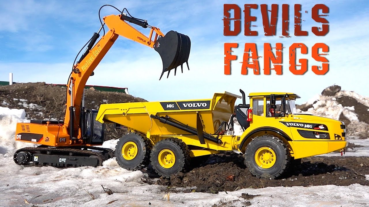 "Złoto YouTube – ""DEVILS FANGS"" Custom Excavator Bucket : Meet the BUILDER! 
