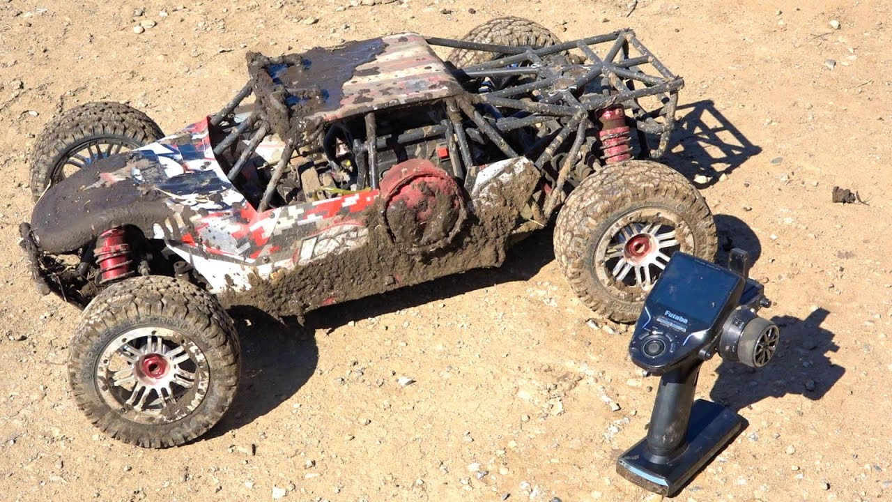 După 2 YEARS I try to start my 32cc LOSI DBXL and this happened | RC AVENTURI