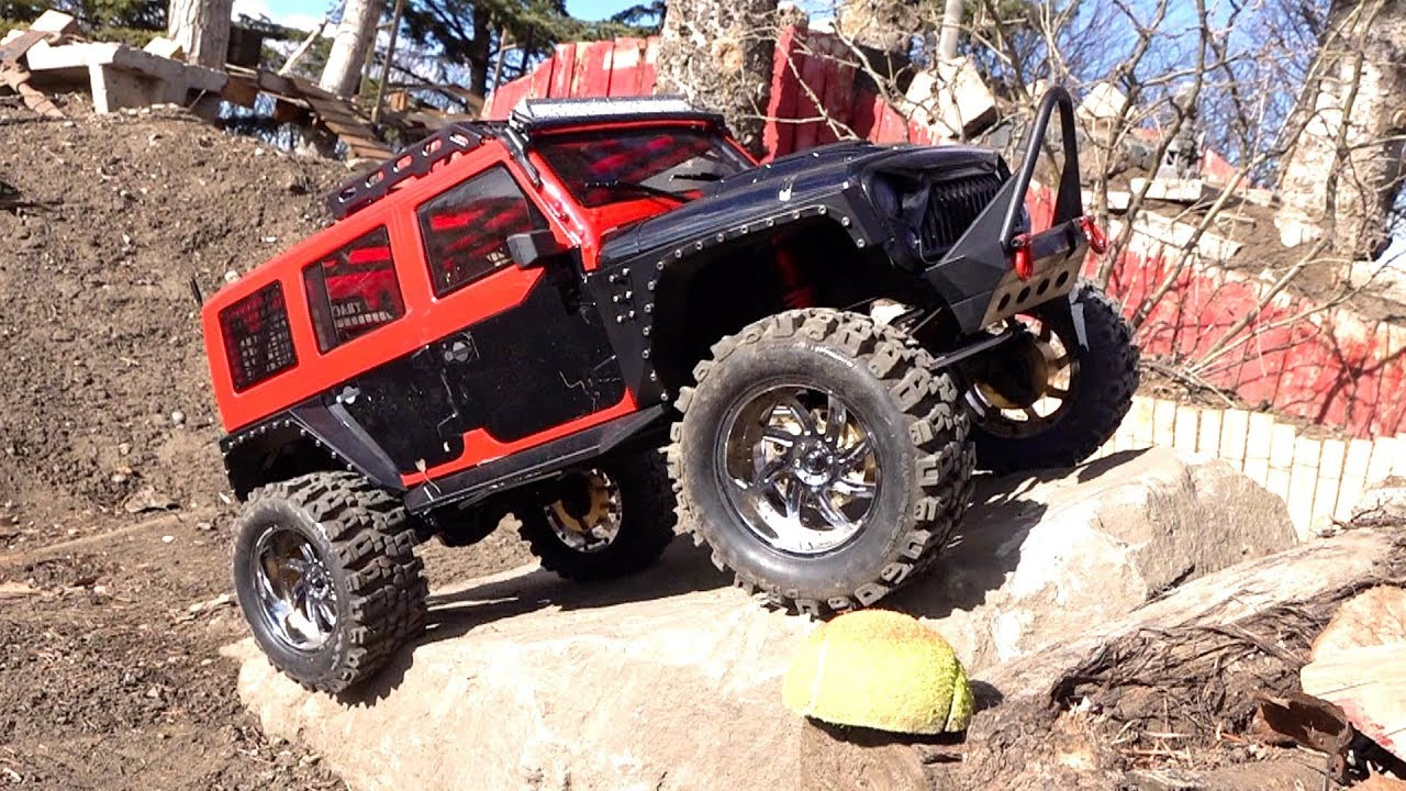 MALL CRAWLER goes Off Road on Backyard Trail Course – Founder 2 RUBICON 8th Scale | RC AVANTURE