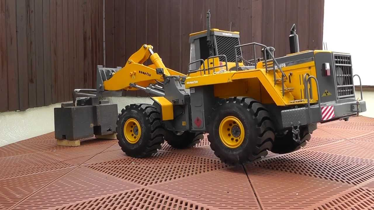 RC STRONGEST RC WHEEL LOADER IN SCALE 1:14,5  and lift 18 KG