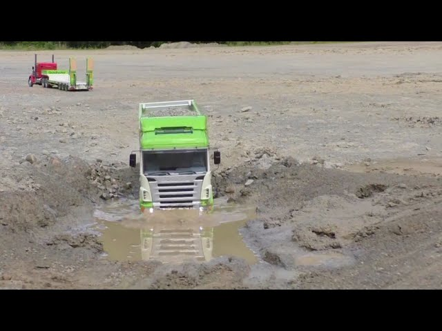 HEAVY SCANIA – INCREDIBLE RC SCANIA 4×4 – THICON-MODELS !